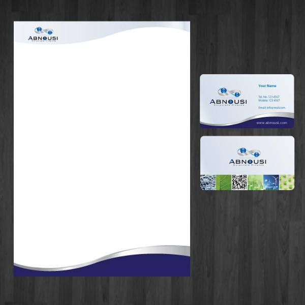 Logo Design by storm - Entry No. 223 in the Logo Design Contest Fun Logo Design for Abnousi Financial Consultants.