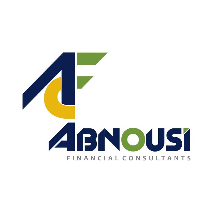 Logo Design by Rudy - Entry No. 229 in the Logo Design Contest Fun Logo Design for Abnousi Financial Consultants.