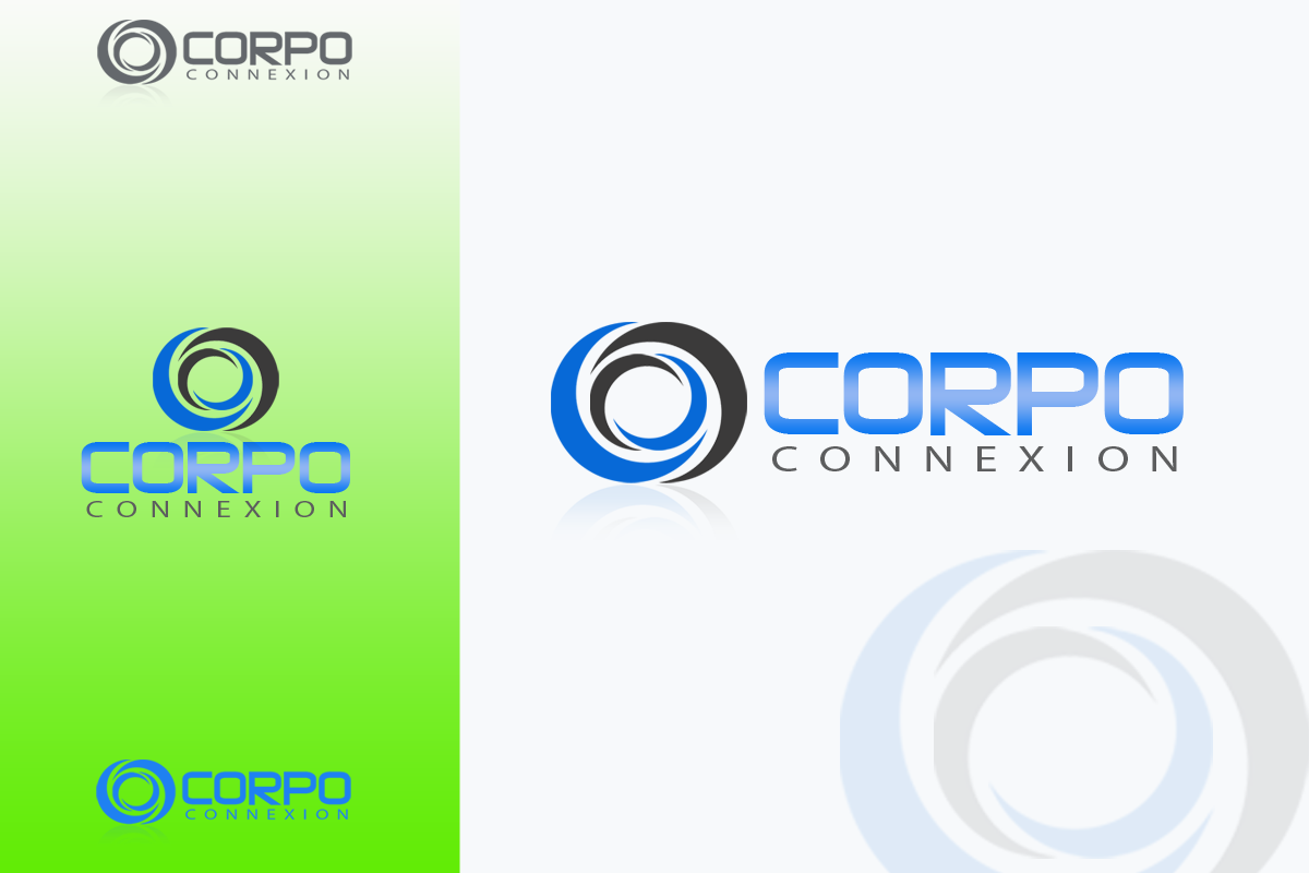 Logo Design by Golden_Hand - Entry No. 79 in the Logo Design Contest Fun Logo Design for Corpo Connexion.