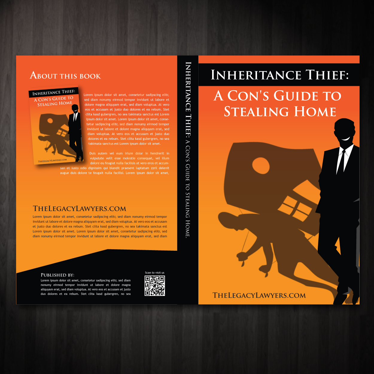 Book Cover Design by storm - Entry No. 9 in the Book Cover Design Contest Unique Book Cover Design Wanted for The Legacy Lawyers (TheLegacyLawyers.com).