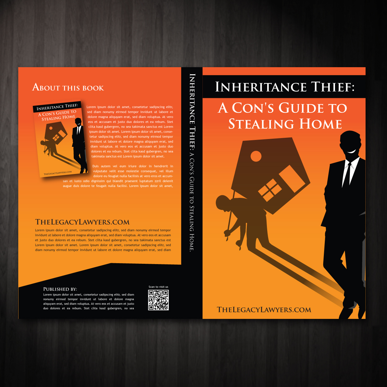 Book Cover Design by storm - Entry No. 10 in the Book Cover Design Contest Unique Book Cover Design Wanted for The Legacy Lawyers (TheLegacyLawyers.com).