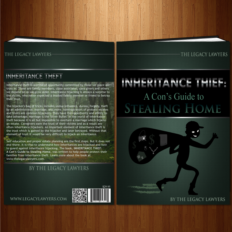 Book Cover Design by moonflower - Entry No. 31 in the Book Cover Design Contest Unique Book Cover Design Wanted for The Legacy Lawyers (TheLegacyLawyers.com).