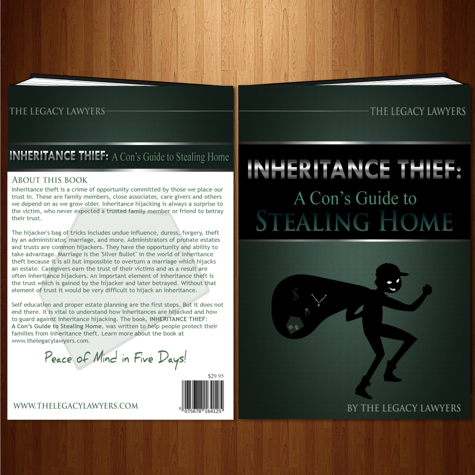 Book Cover Design by moonflower - Entry No. 47 in the Book Cover Design Contest Unique Book Cover Design Wanted for The Legacy Lawyers (TheLegacyLawyers.com).