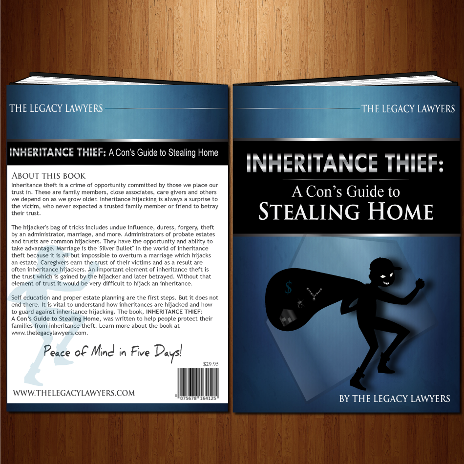 Book Cover Design by moonflower - Entry No. 56 in the Book Cover Design Contest Unique Book Cover Design Wanted for The Legacy Lawyers (TheLegacyLawyers.com).