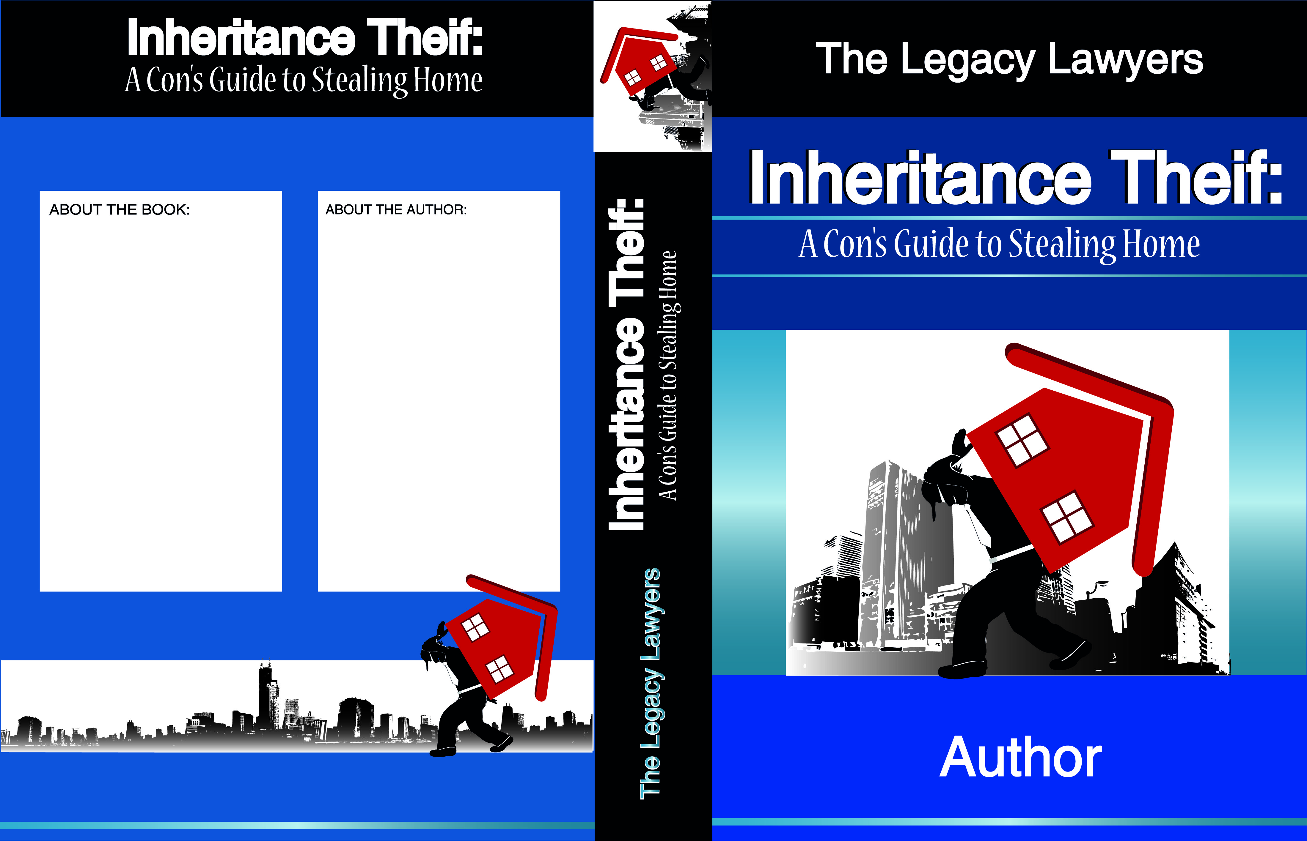 Book Cover Design by vdminkovi - Entry No. 67 in the Book Cover Design Contest Unique Book Cover Design Wanted for The Legacy Lawyers (TheLegacyLawyers.com).