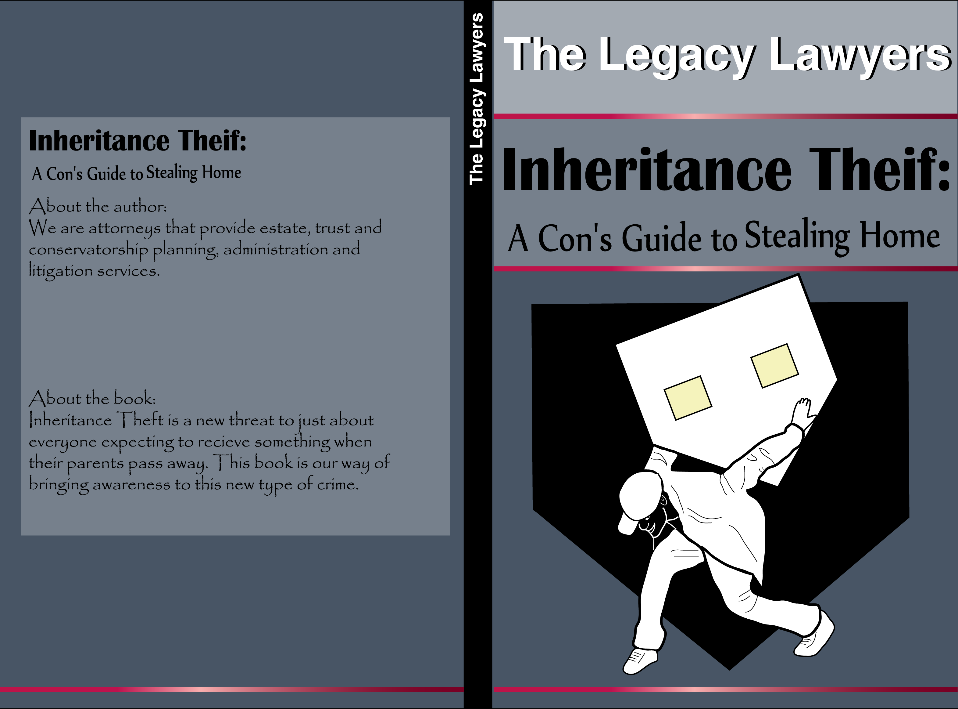 Book Cover Design by vdminkovi - Entry No. 86 in the Book Cover Design Contest Unique Book Cover Design Wanted for The Legacy Lawyers (TheLegacyLawyers.com).