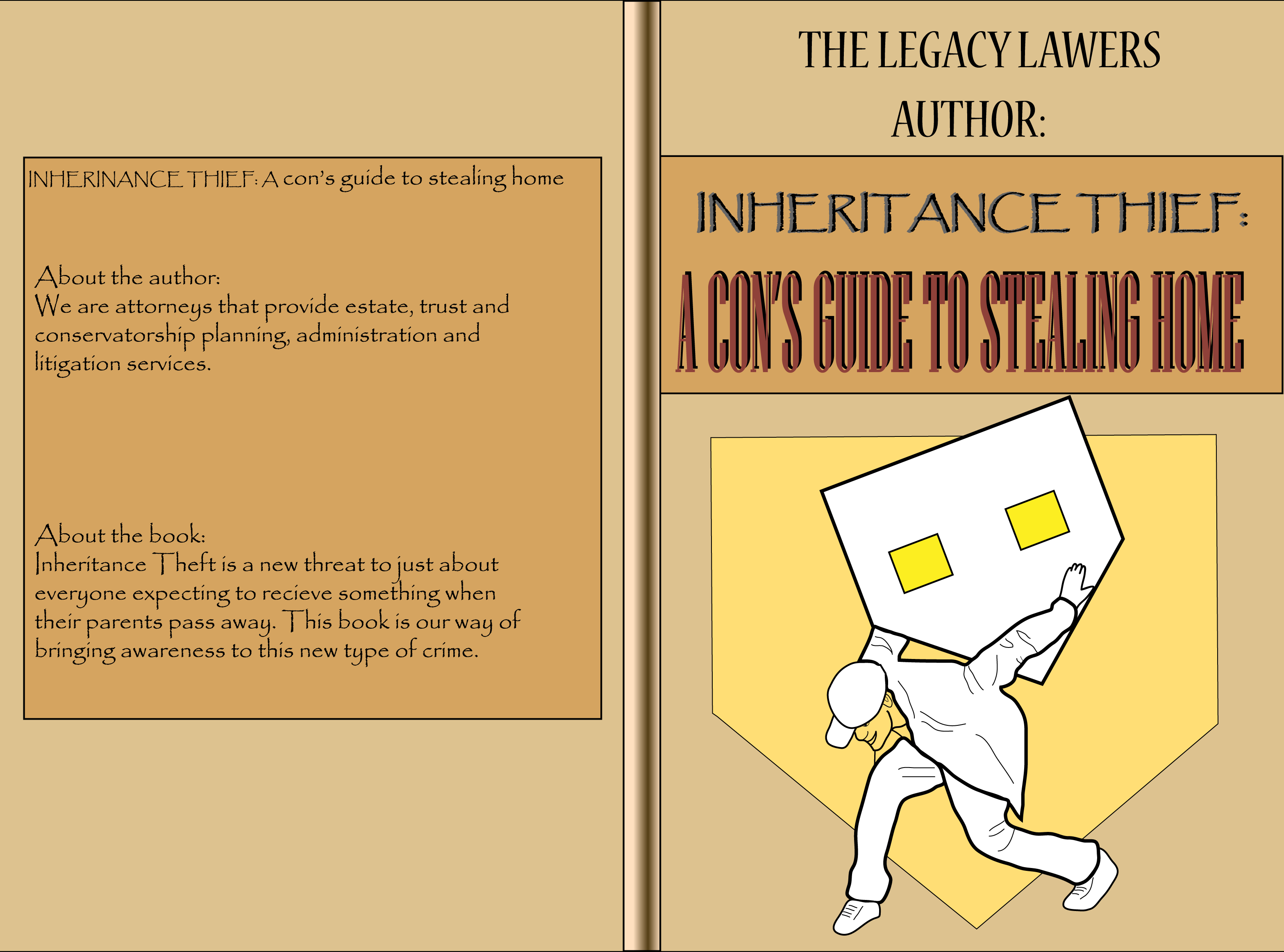 Book Cover Design by vdminkovi - Entry No. 87 in the Book Cover Design Contest Unique Book Cover Design Wanted for The Legacy Lawyers (TheLegacyLawyers.com).