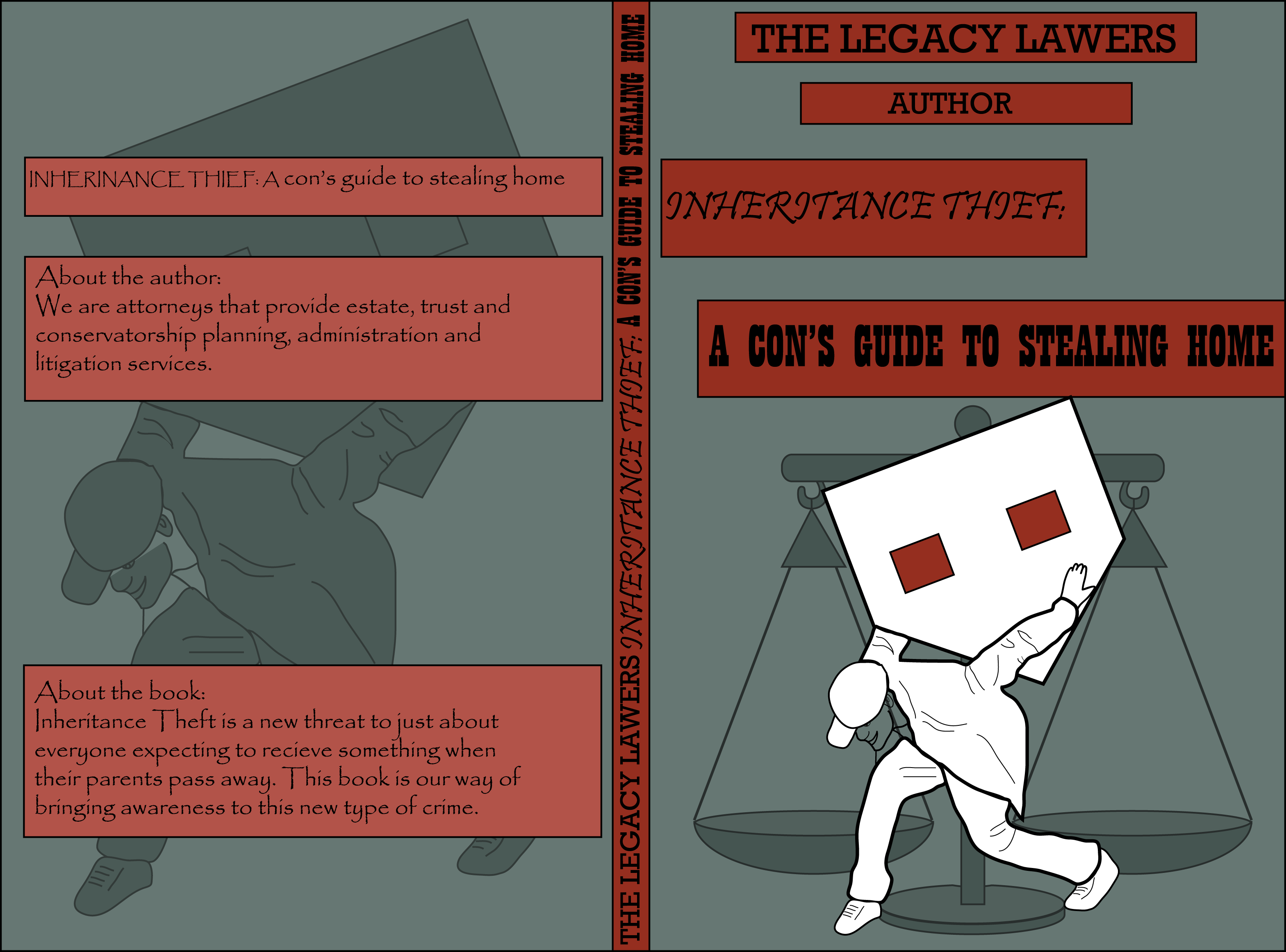 Book Cover Design by vdminkovi - Entry No. 88 in the Book Cover Design Contest Unique Book Cover Design Wanted for The Legacy Lawyers (TheLegacyLawyers.com).