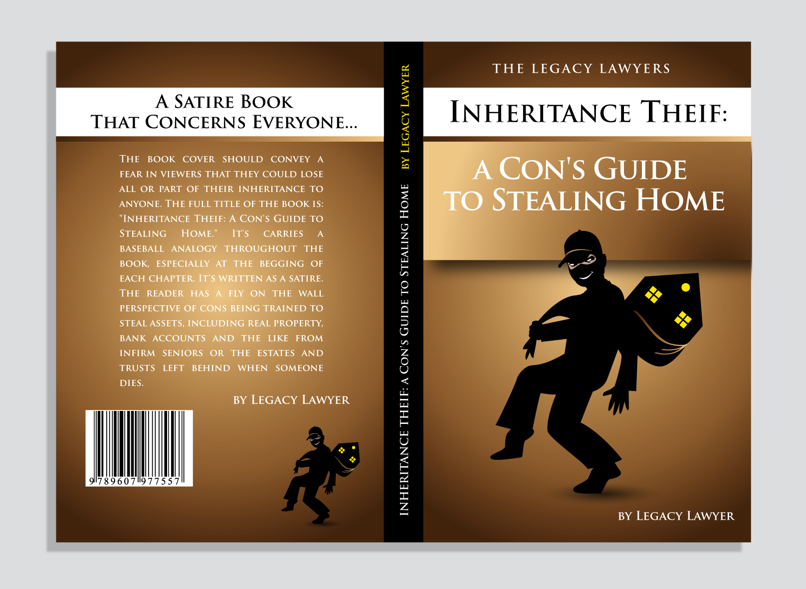 Book Cover Design by luna - Entry No. 118 in the Book Cover Design Contest Unique Book Cover Design Wanted for The Legacy Lawyers (TheLegacyLawyers.com).