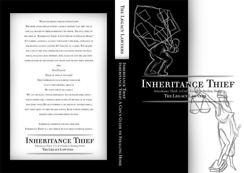 Book Cover Design by Suryo Prakadewa - Entry No. 126 in the Book Cover Design Contest Unique Book Cover Design Wanted for The Legacy Lawyers (TheLegacyLawyers.com).
