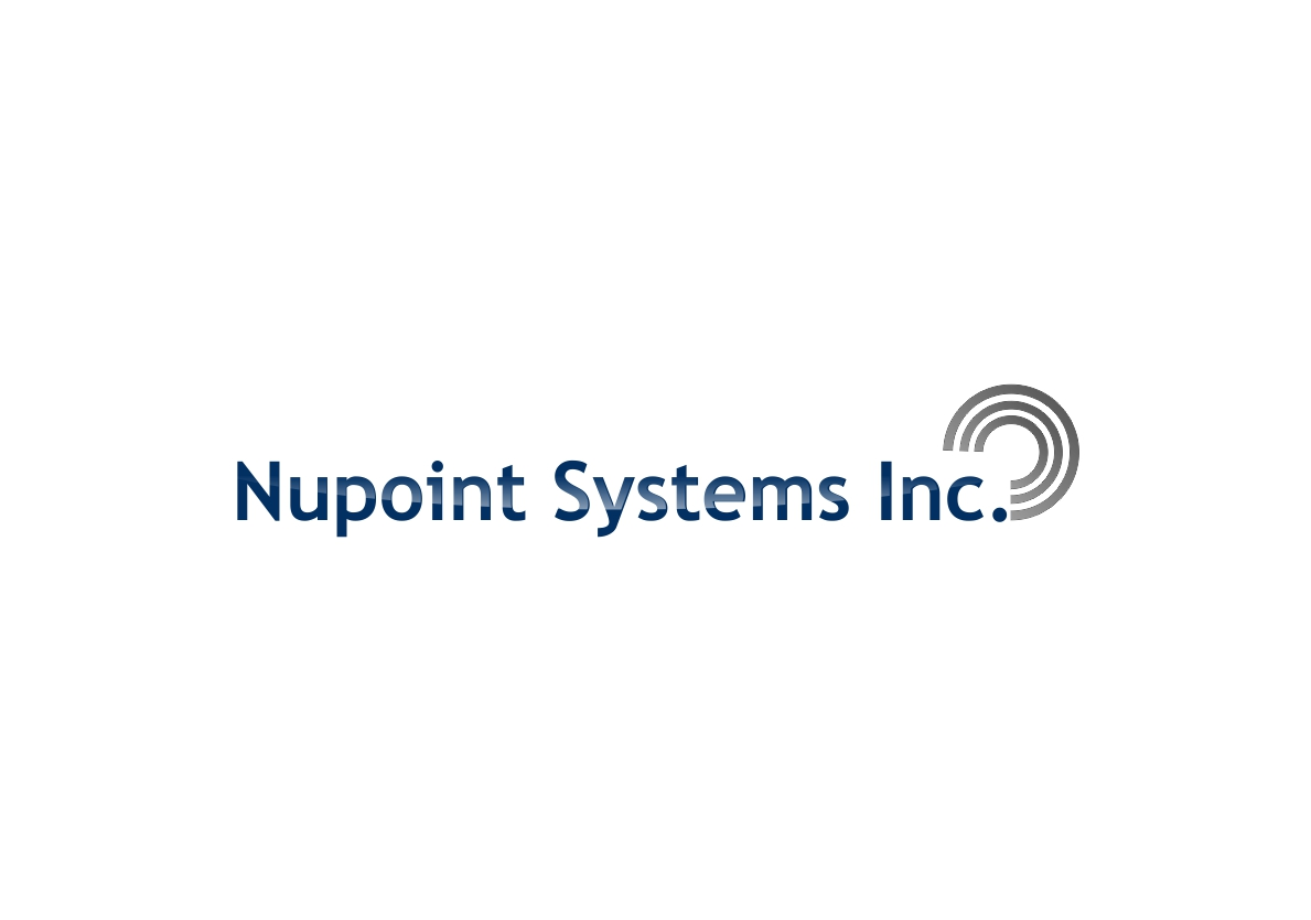 Logo Design by dzoker - Entry No. 4 in the Logo Design Contest Unique Logo Design Wanted for Nupoint Systems Inc..
