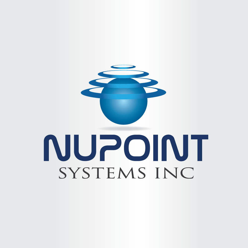 Logo Design by rockin - Entry No. 9 in the Logo Design Contest Unique Logo Design Wanted for Nupoint Systems Inc..
