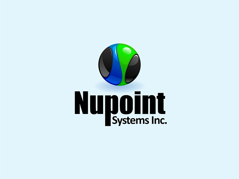 Logo Design by scorpy - Entry No. 11 in the Logo Design Contest Unique Logo Design Wanted for Nupoint Systems Inc..