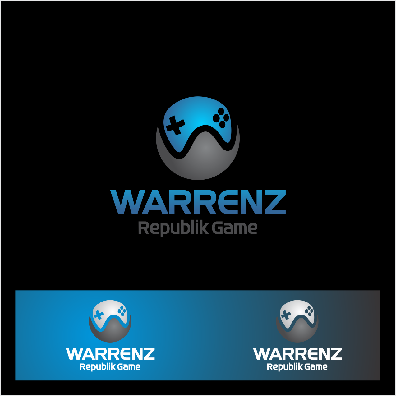 Logo Design by Kunza - Entry No. 28 in the Logo Design Contest Logo Design Needed for Exciting New Company Warrenz Republic Game.
