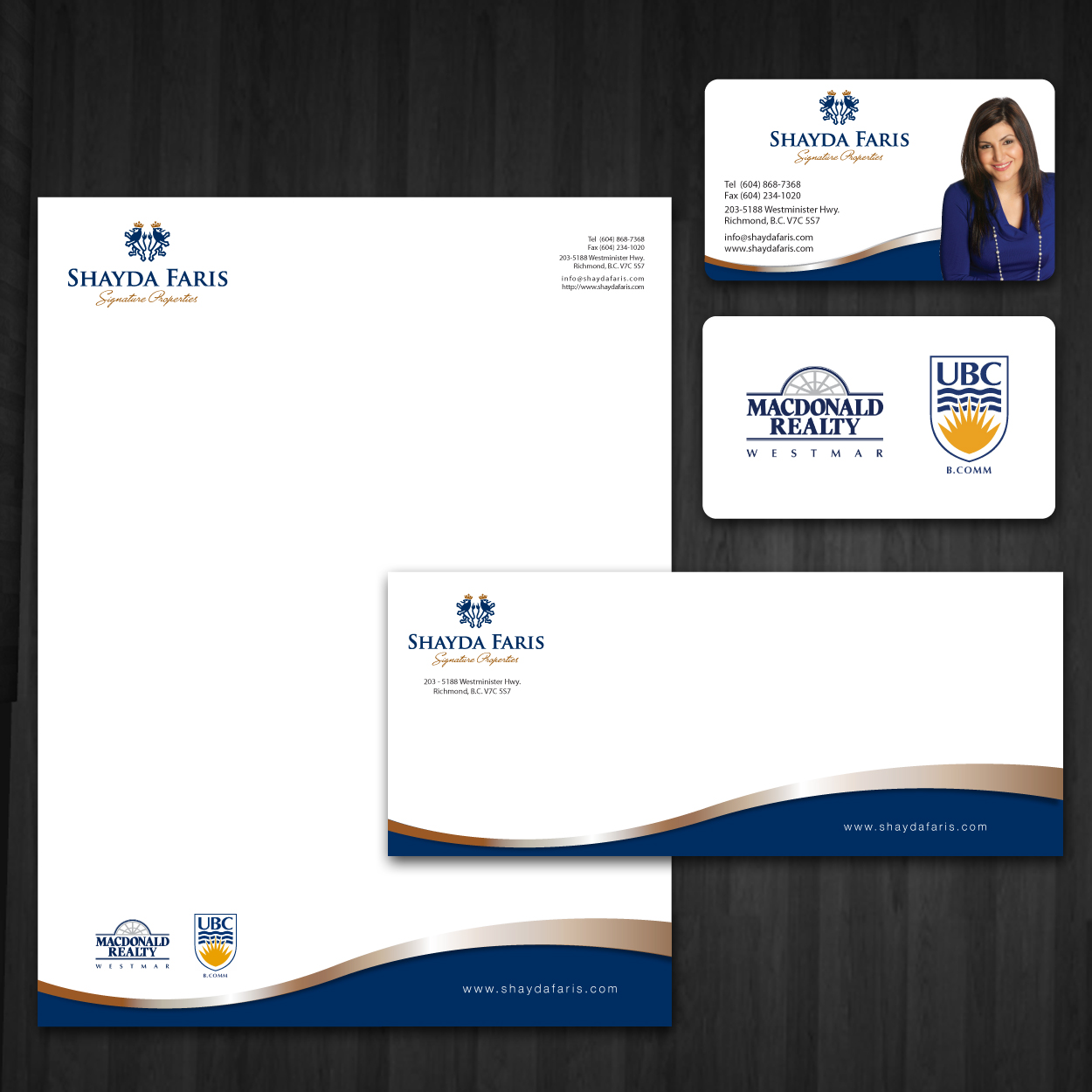 canada real estate business card design 1250a—1250 business