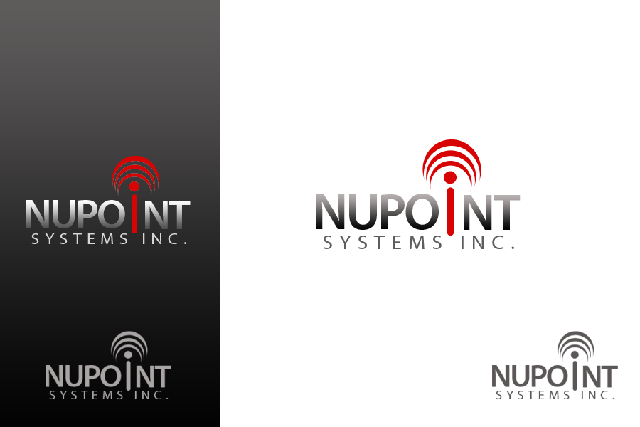 Logo Design by golden-hand - Entry No. 31 in the Logo Design Contest Unique Logo Design Wanted for Nupoint Systems Inc..