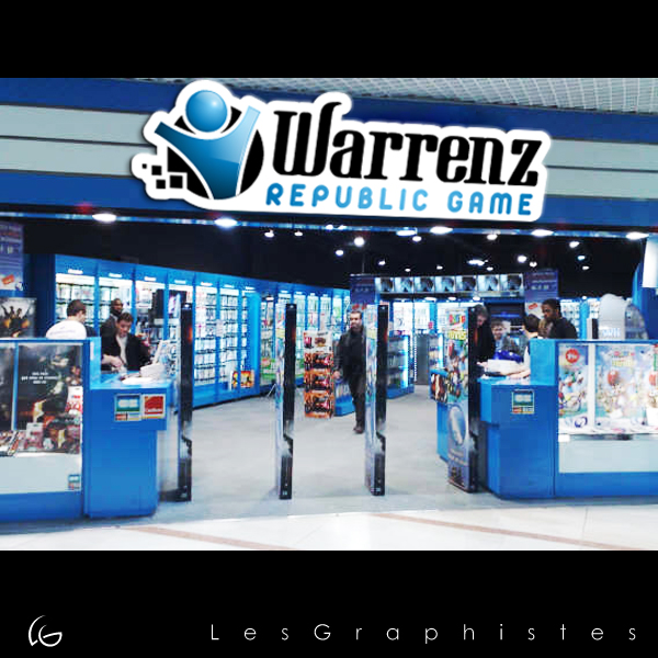 Logo Design by Les-Graphistes - Entry No. 41 in the Logo Design Contest Logo Design Needed for Exciting New Company Warrenz Republic Game.