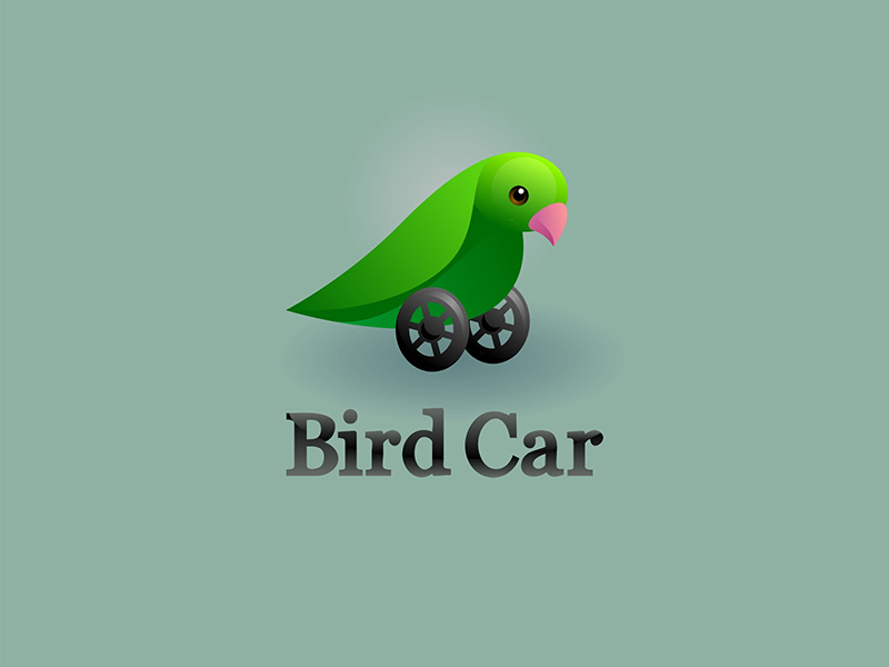 Logo Design by scorpy - Entry No. 14 in the Logo Design Contest New Logo Design for Bird car.