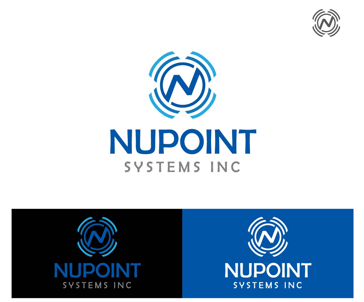 Logo Design by peps - Entry No. 71 in the Logo Design Contest Unique Logo Design Wanted for Nupoint Systems Inc..
