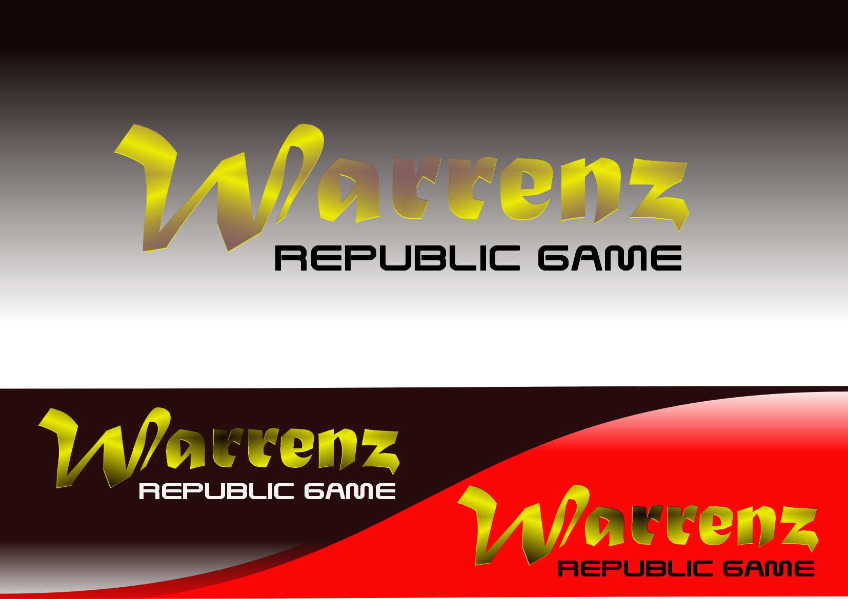 Logo Design by Heri Susanto - Entry No. 52 in the Logo Design Contest Logo Design Needed for Exciting New Company Warrenz Republic Game.