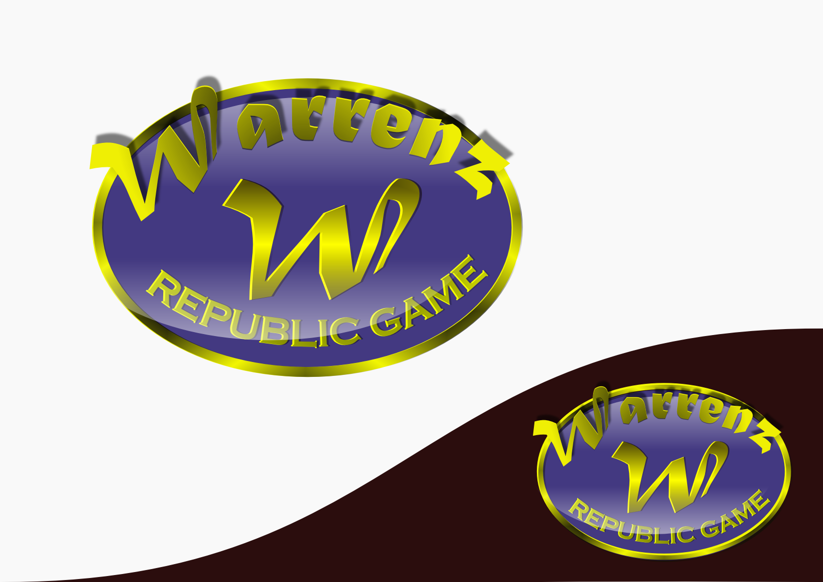 Logo Design by Heri Susanto - Entry No. 53 in the Logo Design Contest Logo Design Needed for Exciting New Company Warrenz Republic Game.