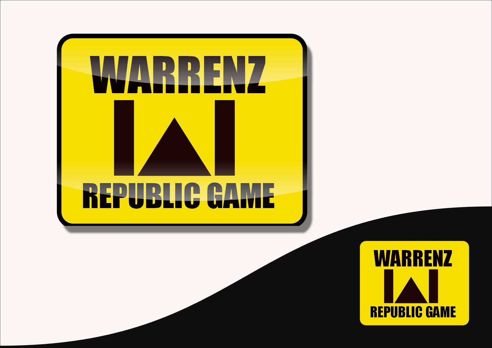Logo Design by Heri Susanto - Entry No. 54 in the Logo Design Contest Logo Design Needed for Exciting New Company Warrenz Republic Game.