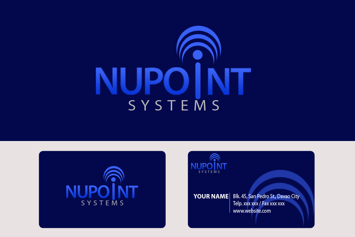 Logo Design by Golden_Hand - Entry No. 84 in the Logo Design Contest Unique Logo Design Wanted for Nupoint Systems Inc..