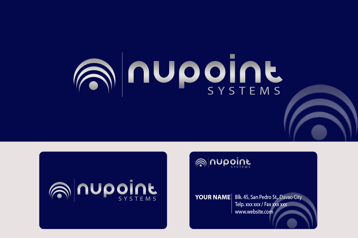 Logo Design by Golden_Hand - Entry No. 85 in the Logo Design Contest Unique Logo Design Wanted for Nupoint Systems Inc..