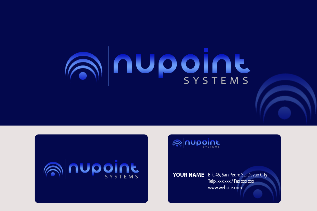 Logo Design by golden-hand - Entry No. 86 in the Logo Design Contest Unique Logo Design Wanted for Nupoint Systems Inc..
