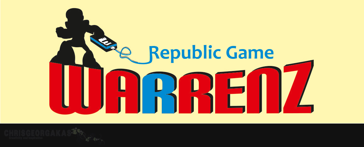 Logo Design by Christos Georgakas - Entry No. 63 in the Logo Design Contest Logo Design Needed for Exciting New Company Warrenz Republic Game.