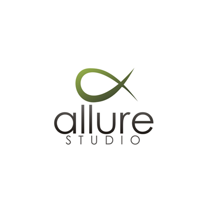 Logo Design by dejavu - Entry No. 3 in the Logo Design Contest Logo Design Needed for Exciting New Company Studio Allure.