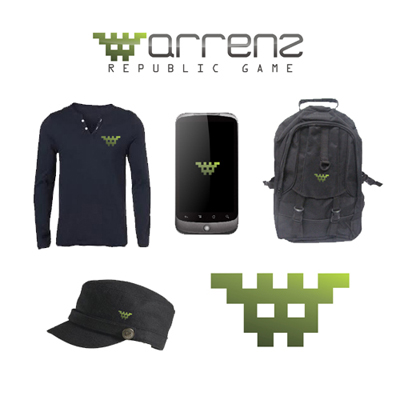 Logo Design by dejavu - Entry No. 72 in the Logo Design Contest Logo Design Needed for Exciting New Company Warrenz Republic Game.