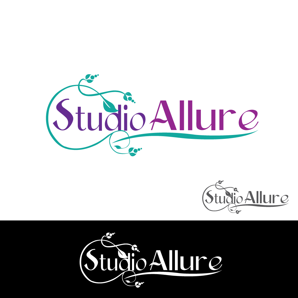 Logo Design by rockin - Entry No. 8 in the Logo Design Contest Logo Design Needed for Exciting New Company Studio Allure.