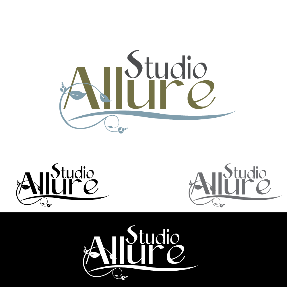 Logo Design by rockin - Entry No. 9 in the Logo Design Contest Logo Design Needed for Exciting New Company Studio Allure.