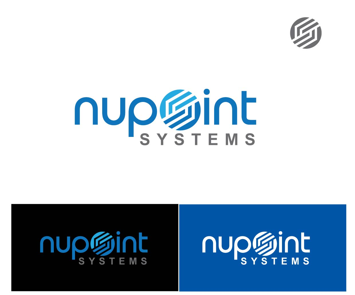 Logo Design by peps - Entry No. 124 in the Logo Design Contest Unique Logo Design Wanted for Nupoint Systems Inc..