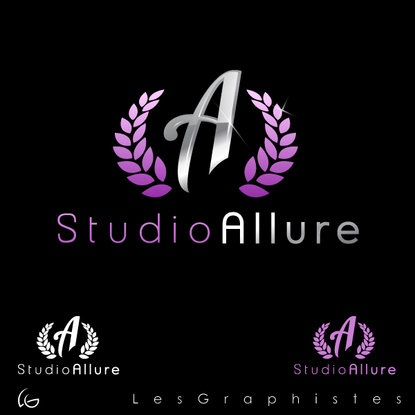 Logo Design by Les-Graphistes - Entry No. 18 in the Logo Design Contest Logo Design Needed for Exciting New Company Studio Allure.