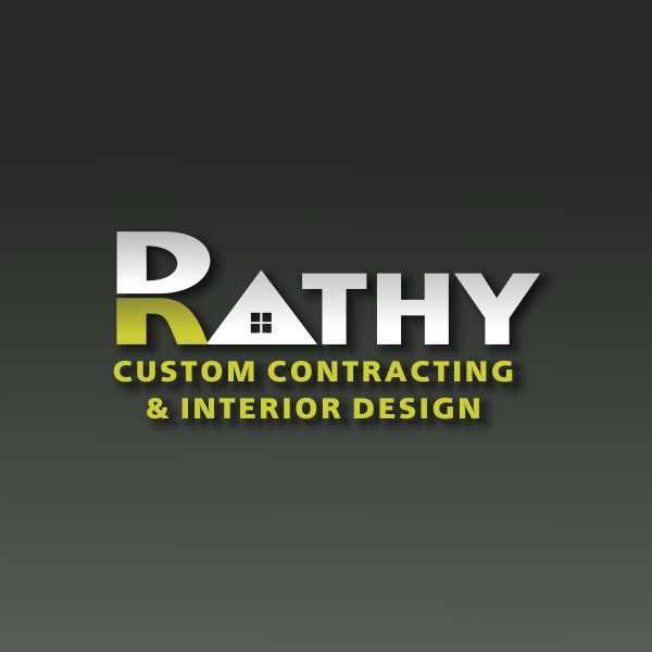 Logo Design by Rudy - Entry No. 4 in the Logo Design Contest Logo Design Needed for Exciting New Company Rathy Custom Contracting & Interior Design.