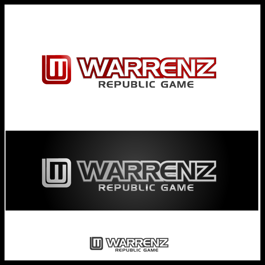 Logo Design by Mumung - Entry No. 88 in the Logo Design Contest Logo Design Needed for Exciting New Company Warrenz Republic Game.