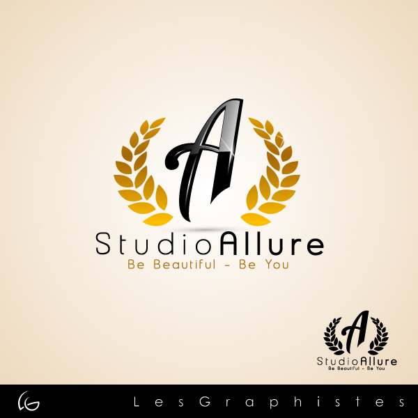 Logo Design by Les-Graphistes - Entry No. 24 in the Logo Design Contest Logo Design Needed for Exciting New Company Studio Allure.