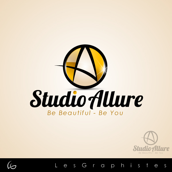 Logo Design by Les-Graphistes - Entry No. 25 in the Logo Design Contest Logo Design Needed for Exciting New Company Studio Allure.