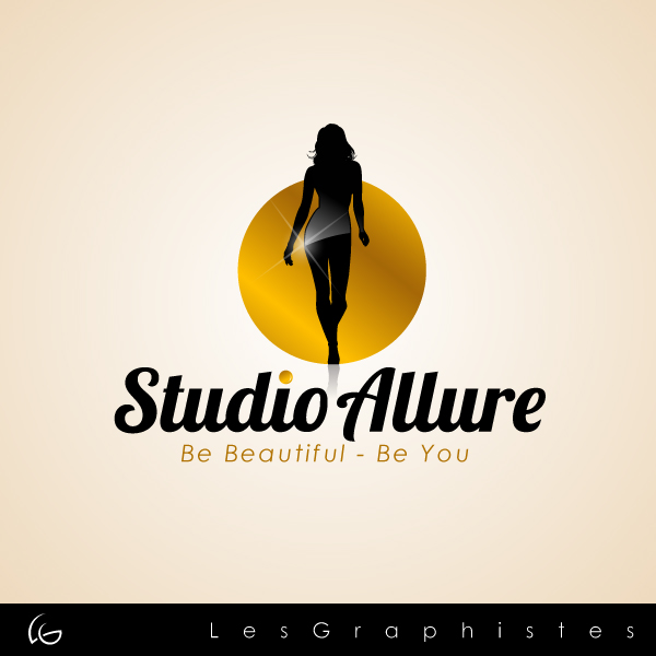 Logo Design by Les-Graphistes - Entry No. 26 in the Logo Design Contest Logo Design Needed for Exciting New Company Studio Allure.