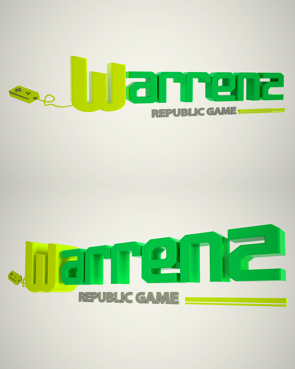 Logo Design by Christos Georgakas - Entry No. 107 in the Logo Design Contest Logo Design Needed for Exciting New Company Warrenz Republic Game.