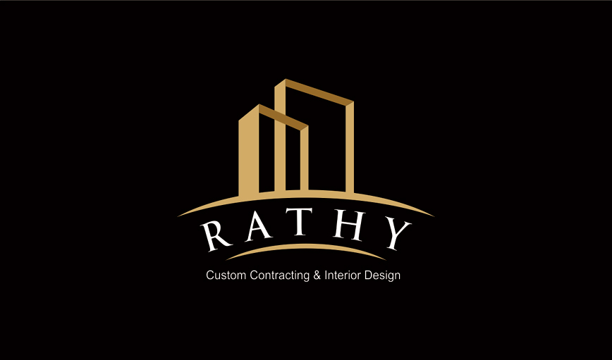 Logo Design by vdhadse - Entry No. 5 in the Logo Design Contest Logo Design Needed for Exciting New Company Rathy Custom Contracting & Interior Design.