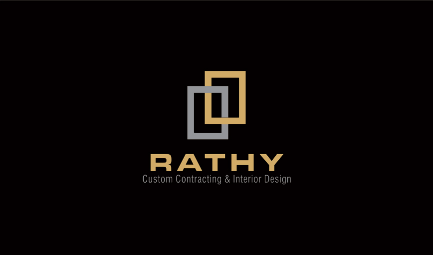 Logo Design by vdhadse - Entry No. 6 in the Logo Design Contest Logo Design Needed for Exciting New Company Rathy Custom Contracting & Interior Design.