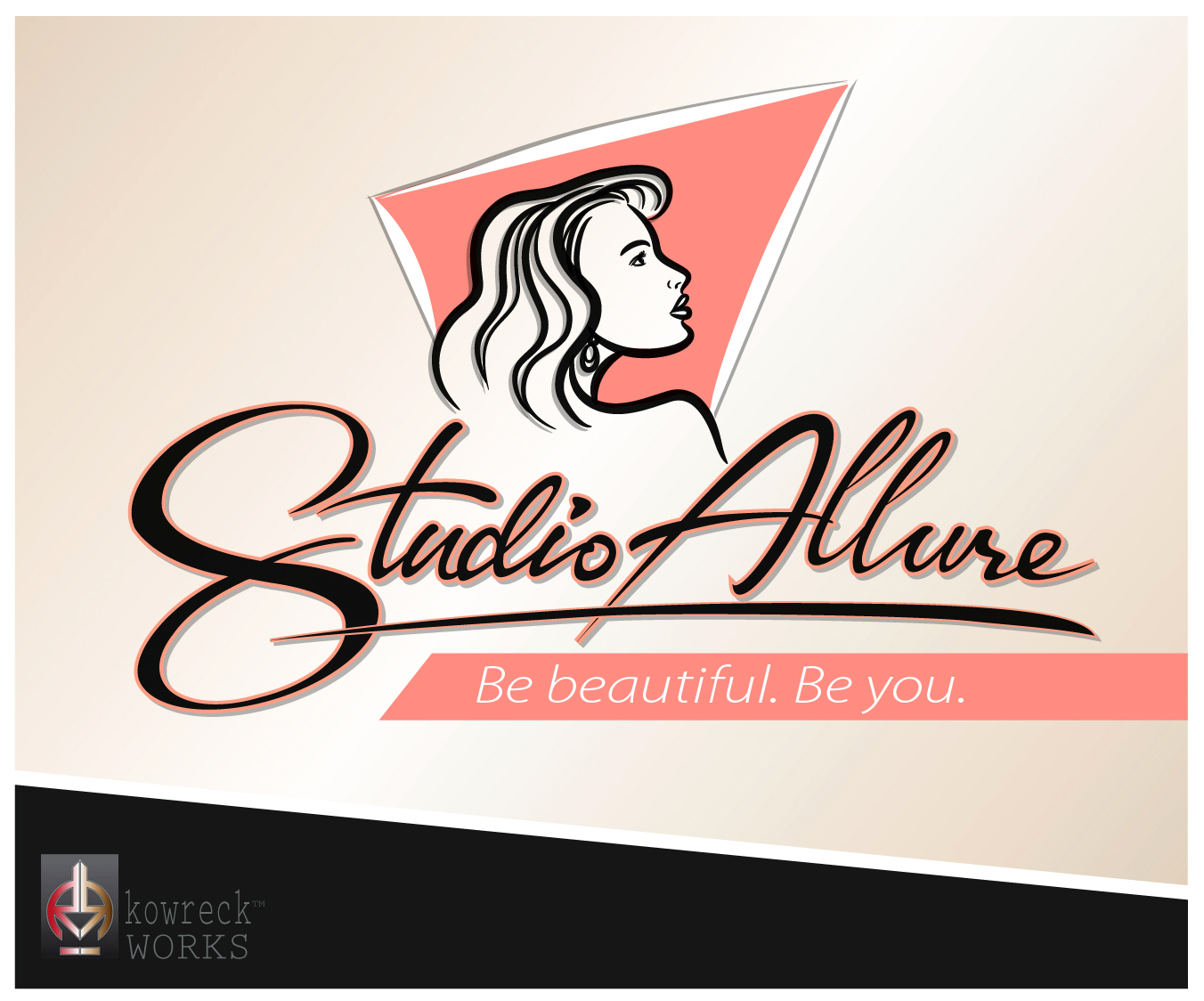 Logo Design by kowreck - Entry No. 70 in the Logo Design Contest Logo Design Needed for Exciting New Company Studio Allure.
