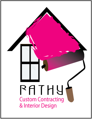 Logo Design by bhasura - Entry No. 15 in the Logo Design Contest Logo Design Needed for Exciting New Company Rathy Custom Contracting & Interior Design.