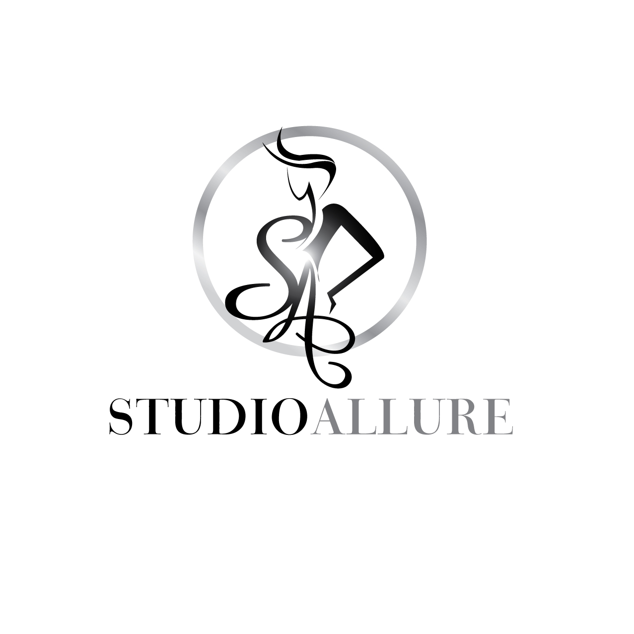 Logo Design by stormbighit - Entry No. 94 in the Logo Design Contest Logo Design Needed for Exciting New Company Studio Allure.