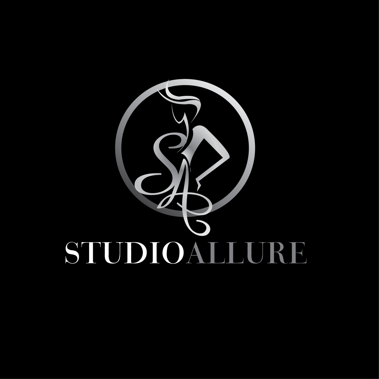Logo Design by stormbighit - Entry No. 95 in the Logo Design Contest Logo Design Needed for Exciting New Company Studio Allure.
