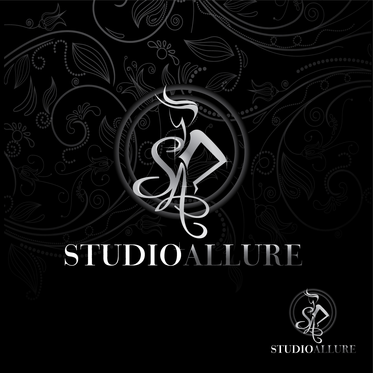 Logo Design by stormbighit - Entry No. 96 in the Logo Design Contest Logo Design Needed for Exciting New Company Studio Allure.