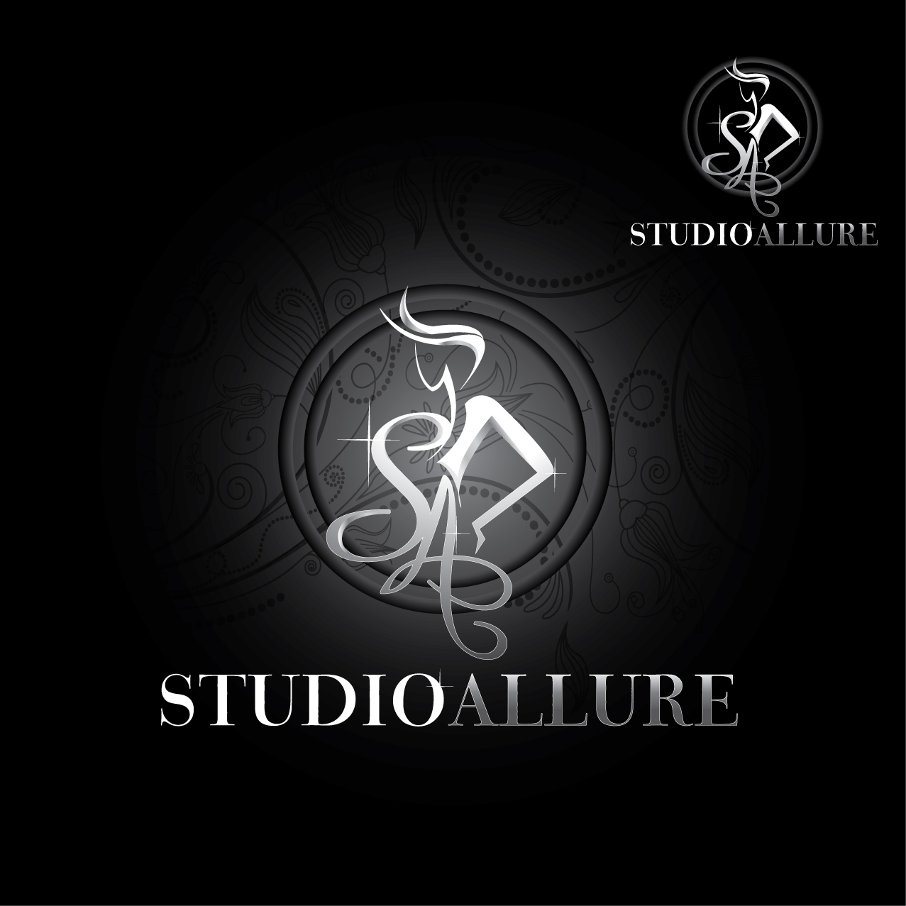 Logo Design by stormbighit - Entry No. 99 in the Logo Design Contest Logo Design Needed for Exciting New Company Studio Allure.